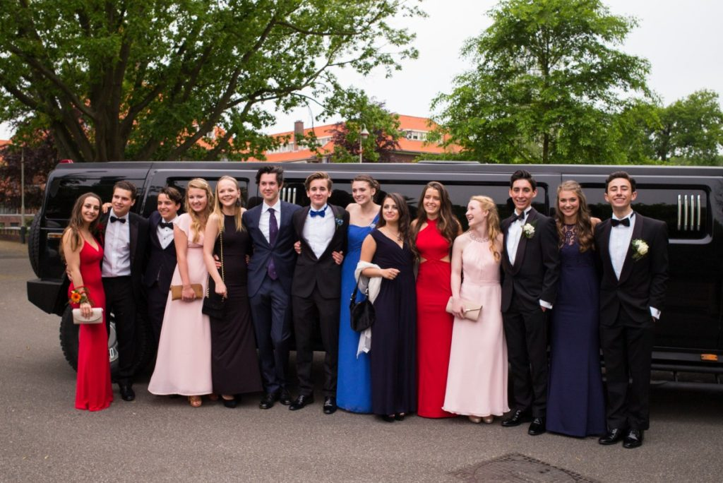 San Diego Prom party bus rental transportation discount service