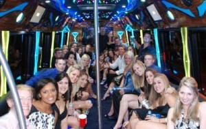 San Diego  Prom party bus rental  transportation discount service discount package best pricing