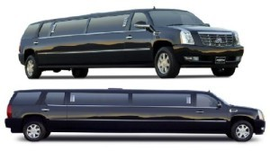 CADILLAC ESCALADE LIMO SERVICE RENTAL SAN DIEGO limousine suv white black pink wedding
