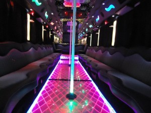 Party Bus Rental Service 45 Person san diego