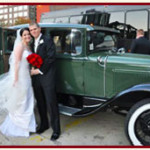 San Diego ANTIQUE CAR SERVICE Classic Vintage vehicles get away car wedding
