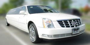 San Diego LIMO SERVICE CADILLAC DEVILLE white black pink