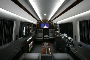 San Diego MERCEDES SPRINTER VAN RENTAL shuttle bus charter