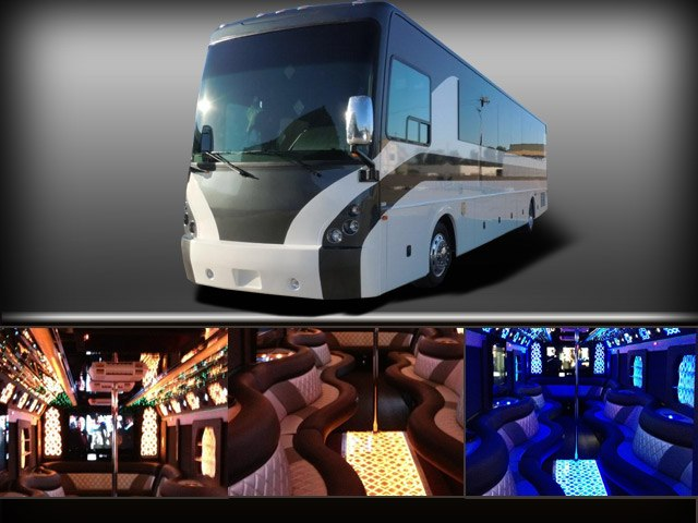 Bar Hopping Club Tour discount Limousine Rates Party Bus Rental Services Transportation