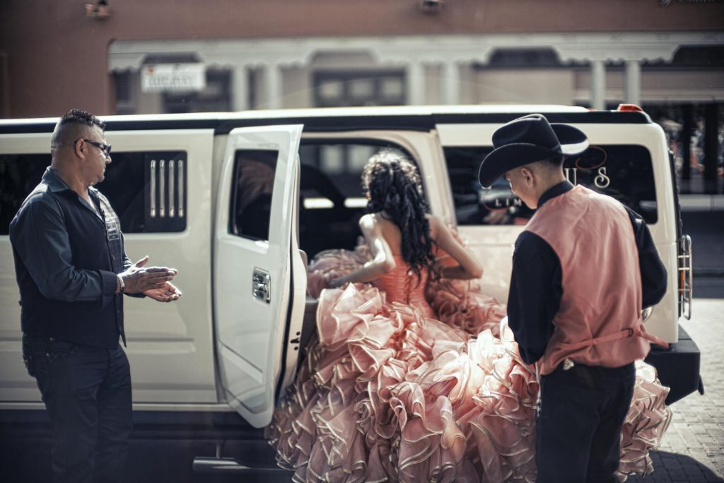 Quinceanera Sweet 16 Party Bus Rental Limo Bus Transportation Services