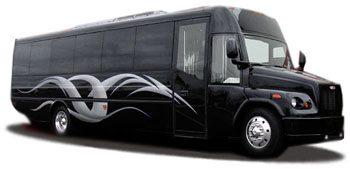 San Diego Party Bus Rental Services 35 passenger transportation