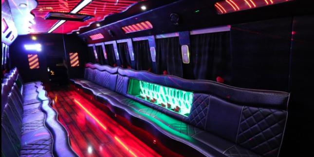 30 passenger party bus services San Diego