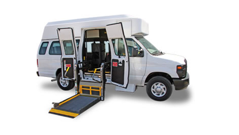 Handicap Senior Bus Transportation Rental Services