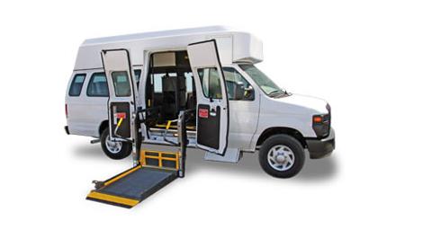 Handicap Senior Bus Transportation Rental Services