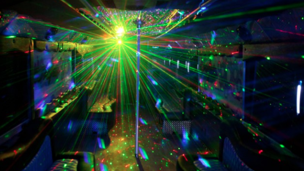 San Diego PARTY BUS 25 PASSENGER LIMO BUS
