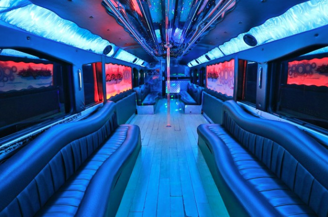 San Diego party bus capacities