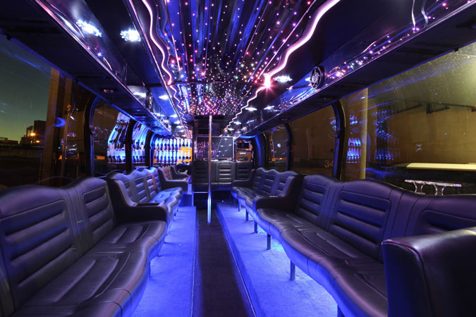 Tailgating Party bus Transportation Options
