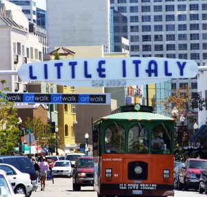 Top Things to do in Little Italy, Limo, Limousine, Shuttle, Charter, Sedan, SUV, Brewery Tour, Wine Tasting, Weddings, Downtown, Clubs, Nightlife, Bachelor Parties, Bachelorette Parties, Gaslamp Quarter